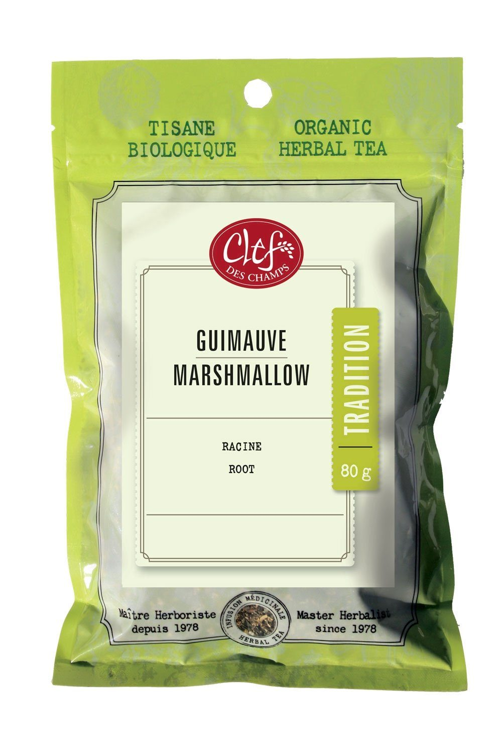 Food & Drink - Clef Des Champs - Marshmallow Root, 80G