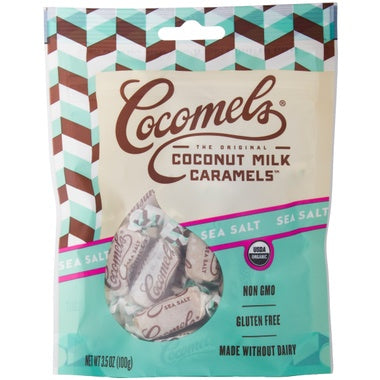 Food & Drink - Cocomels - Sea Salt Cocomels - 100G