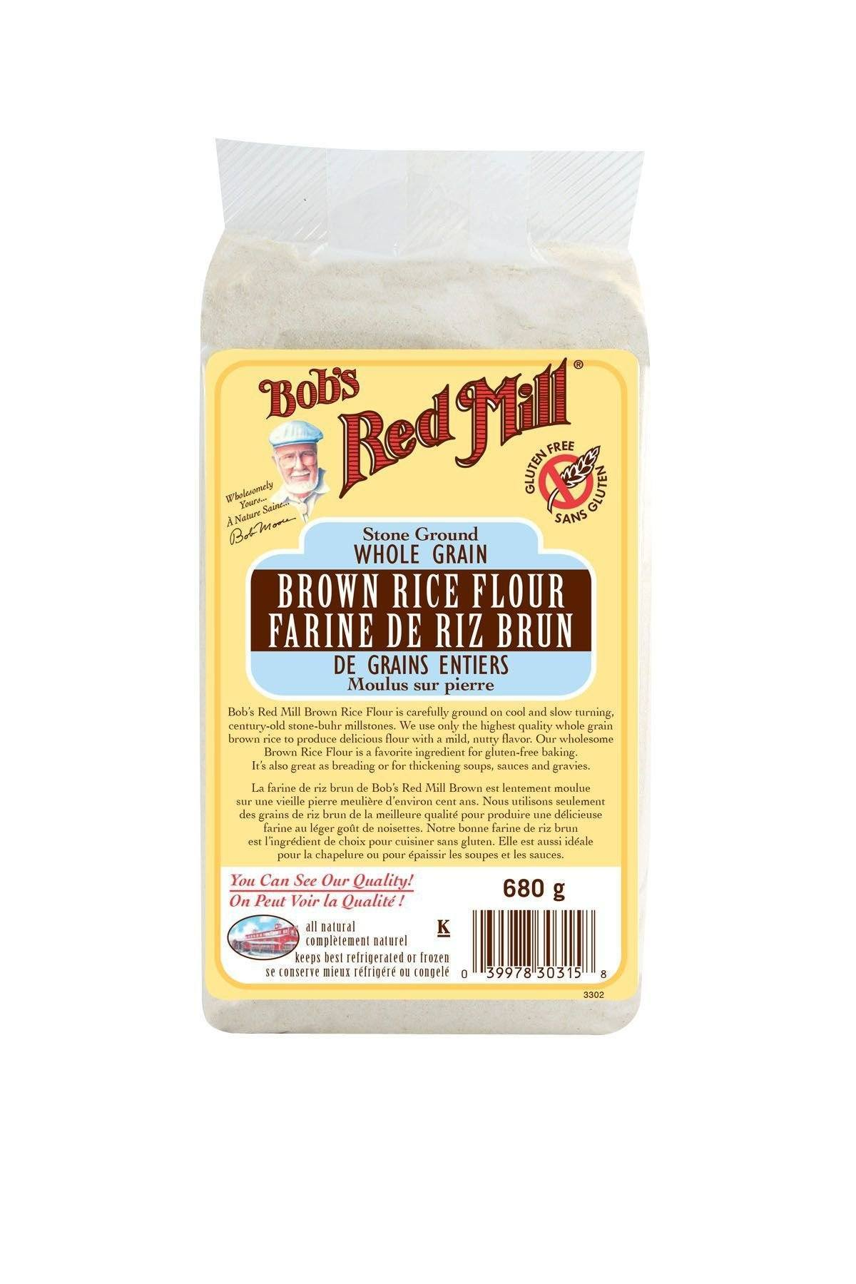 Food & Drink > Cooking & Baking > Flour - Bob's Red Mill - Brown Rice Flour, 680g