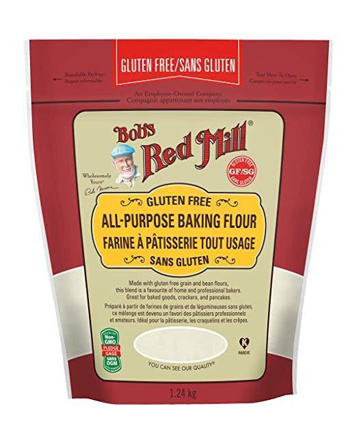 Food & Drink > Cooking & Baking > Flour - Bob's Red Mill - Gluten-Free All-Purpose Baking Flour, 1.24kg