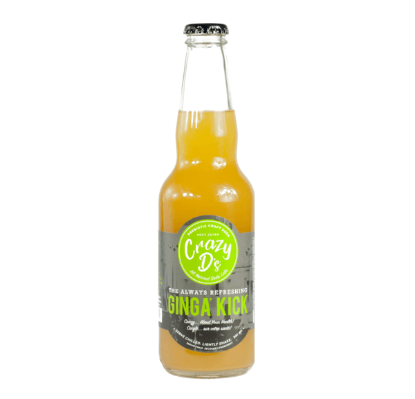 Food & Drink - Crazy D's Soda Labs - Ginga' Kick, 344ml