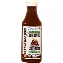 Food & Drink - Crazy Mooskies - BBQ Sauce - Island Spice, 375ml