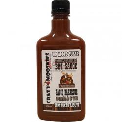 Food & Drink - Crazy Mooskies - BBQ Sauce - Smok'n Garlic, 375ml