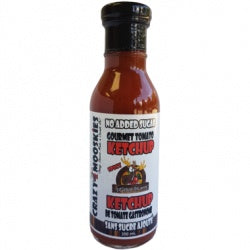 Food & Drink - Crazy Mooskies - Ketchup With Stevia - Spicy, 350ml