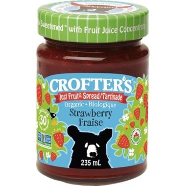 Food & Drink - Crofter's Food Ltd. - Org Just Fruit Strwbrry Spread - 235ml