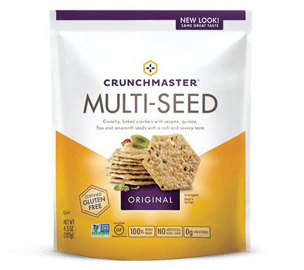 Food & Drink - Crunchmaster - Original Multi-Seed Cracker, 125g