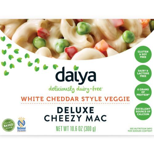 Food & Drink - Daiya - Deluxe White Cheddar Style Veggie Cheezy Mac, 300g