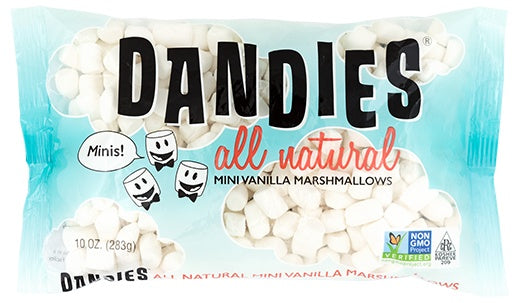 Food & Drink - Dandies - All Natural Mini Vanilla Marshmallows, 283g