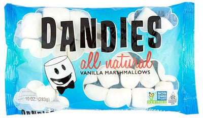 Food & Drink - Dandies - All Natural Vanilla Marshmallows, 283g