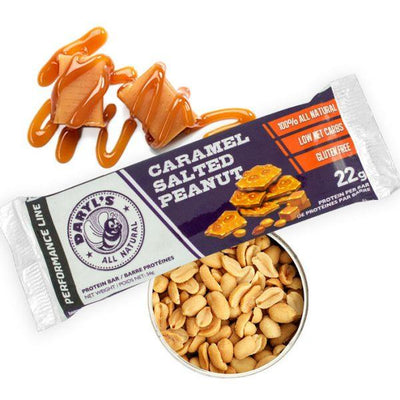 Food & Drink - Daryl's - Caramel Salted Peanut Performance Bars, 56g