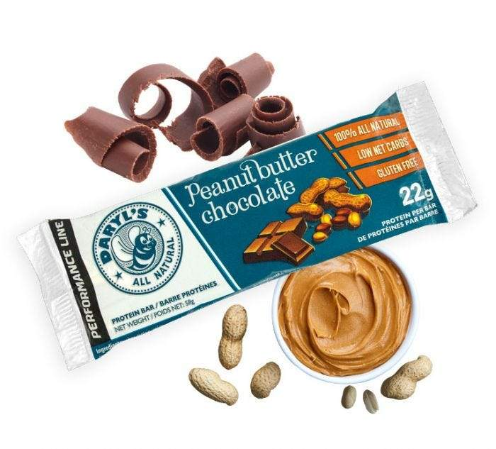 Food & Drink - Daryl's - Peanut Butter Chocolate, 58g