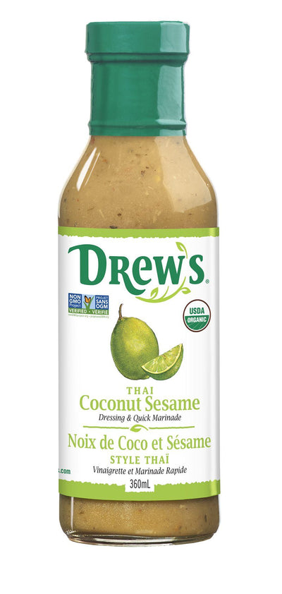 Food & Drink - Drew's - Thai Sesame Lime Dressing - 360ml