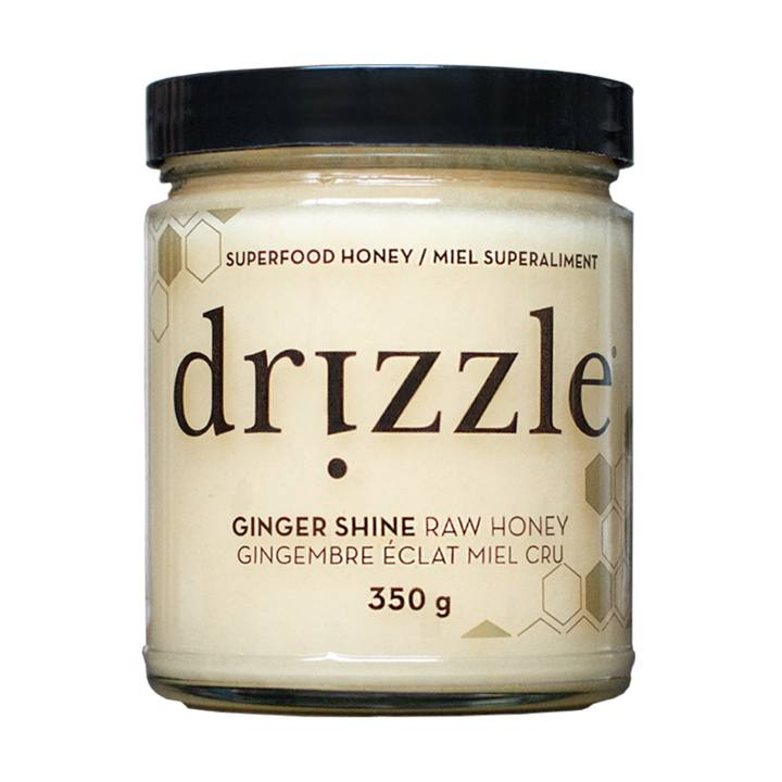 Food & Drink - Drizzle Honey - Ginger Shine Raw Honey, 350g
