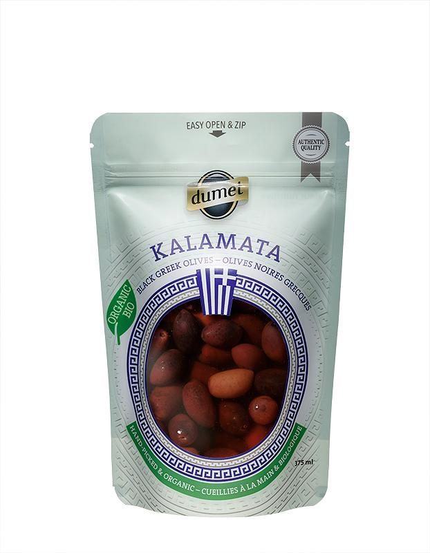 Food & Drink - Dumet - Kalamata With Pitte - 200g