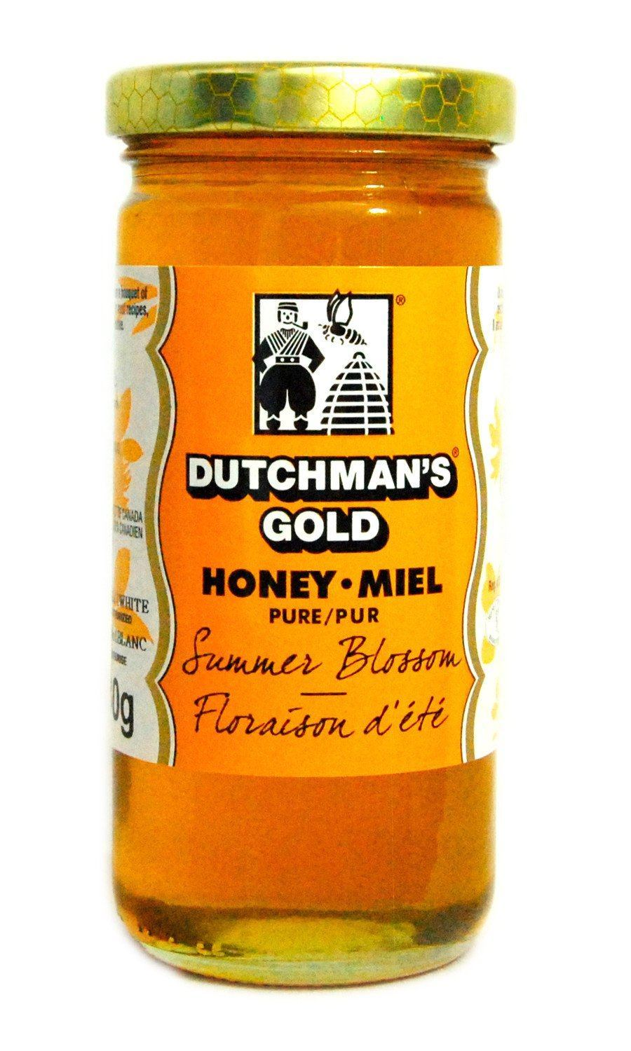 Food & Drink - Dutchman's Gold - Summer Blossom Honey - 330g
