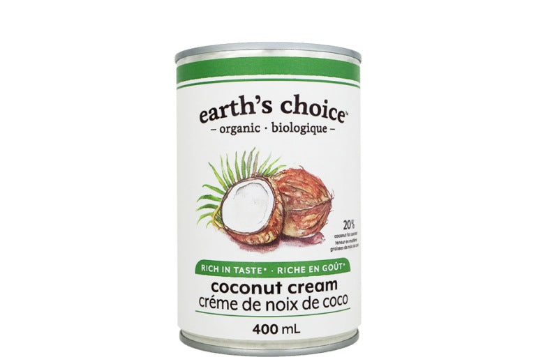 Food & Drink - Earth's Choice - Organic Coconut Cream , 400ml