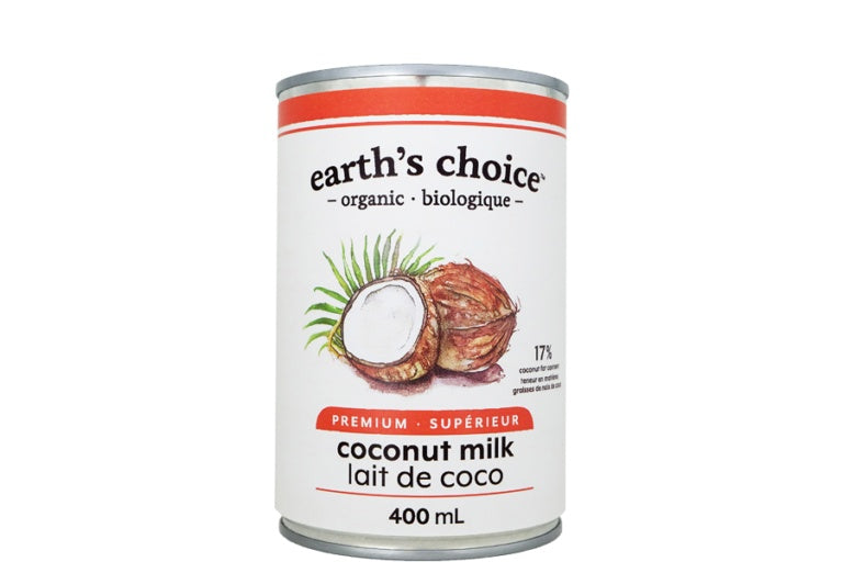 Food & Drink - Earth's Choice - Organic Coconut Milk, 400ml