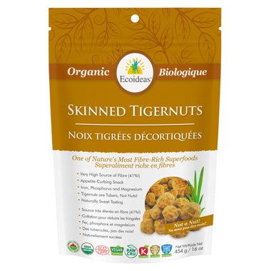 Food & Drink - Ecoideas - Tigernuts - Skinned - 227G