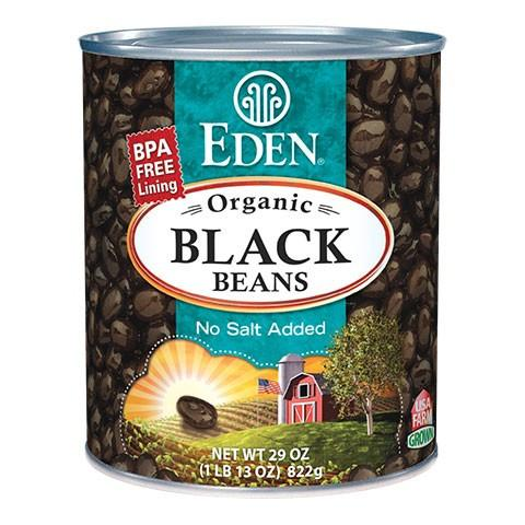 Food & Drink - Eden - Black Beans - 796ml