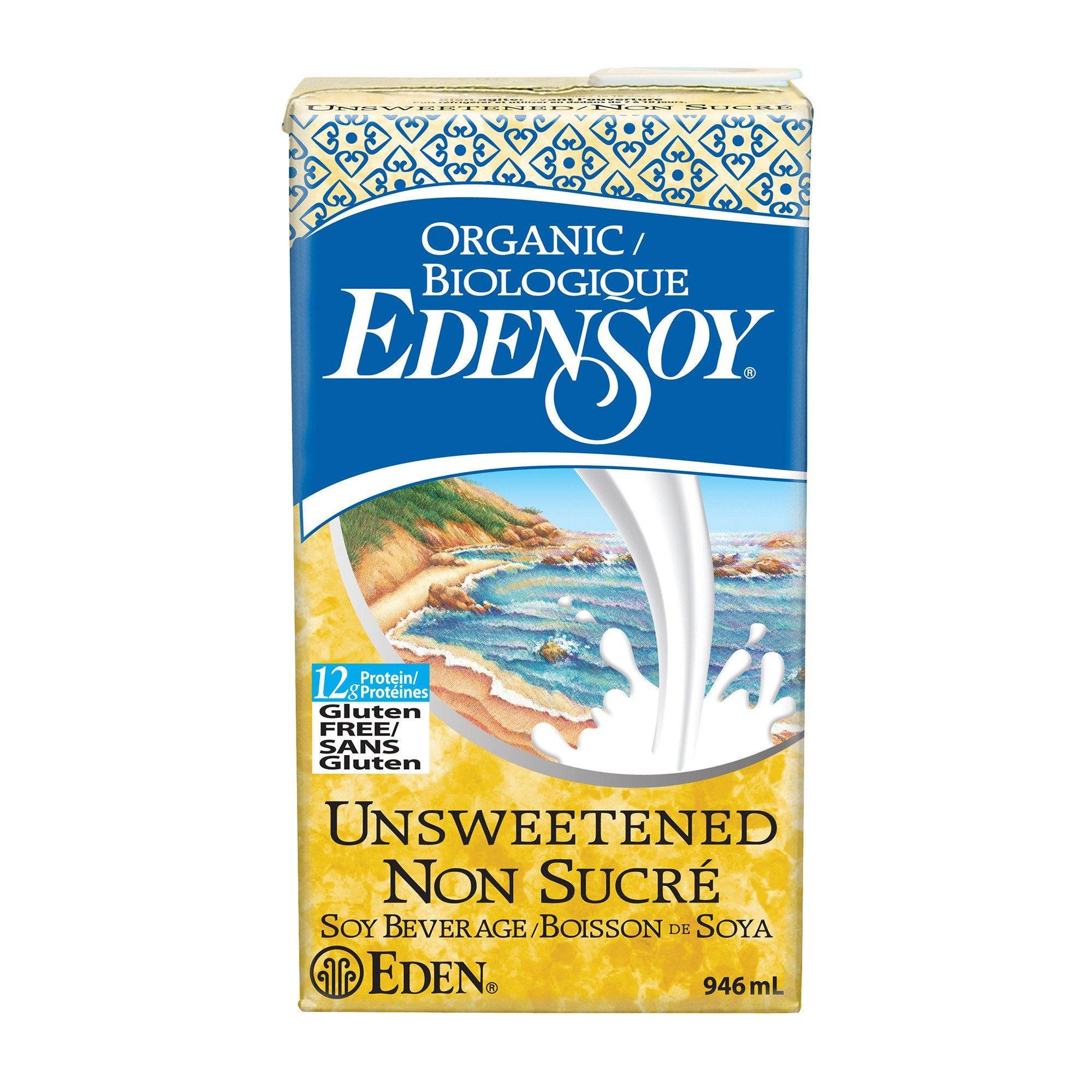 Food & Drink - Eden - EdenSoy Unsweetened, 946ml
