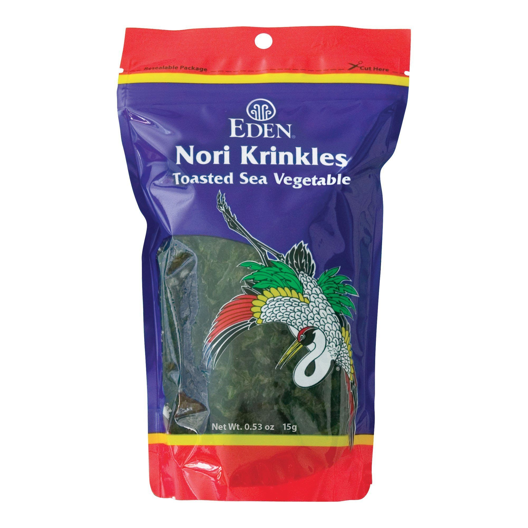 Food & Drink - Eden - Nori Sea Vegetable Krinkles, 15g