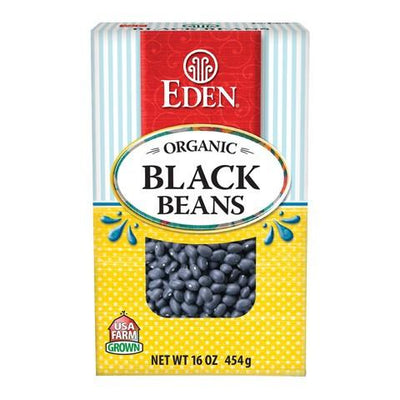 Food & Drink - Eden - Org Black Turtle Dry Beans - 454g