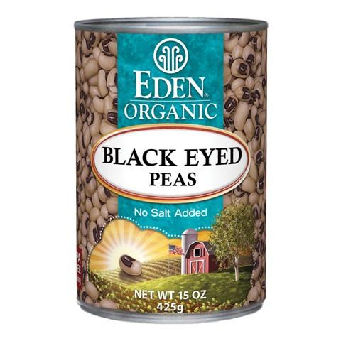 Food & Drink - Eden - Org Blackeye Peas - 398ml