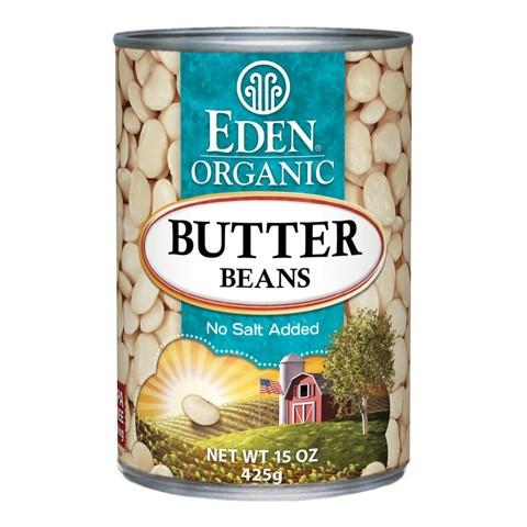 Food & Drink - Eden - Org Butter Beans - 398ml