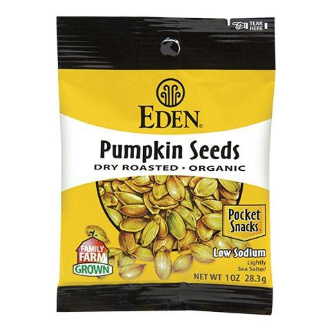 Food & Drink - Eden - Org Dry Roasted Pumpkin Seeds - 113g