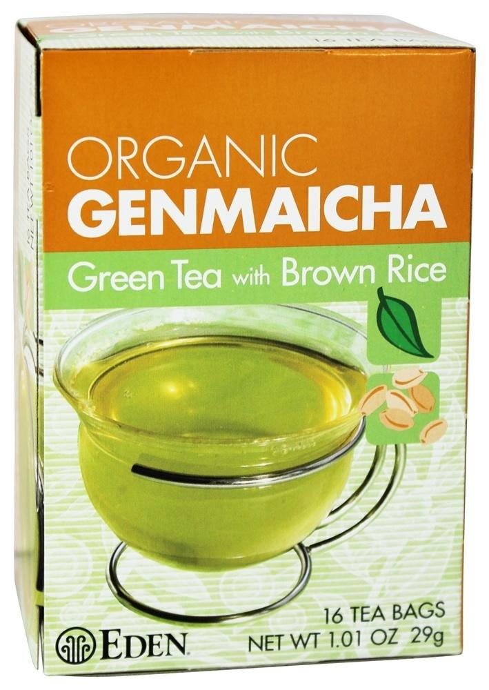 Food & Drink - Eden - Org Genmaicha Tea - 16 Bags