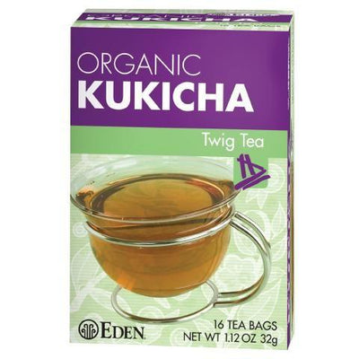 Food & Drink - Eden - Org Kukicha Twig Tea - 16 Bags