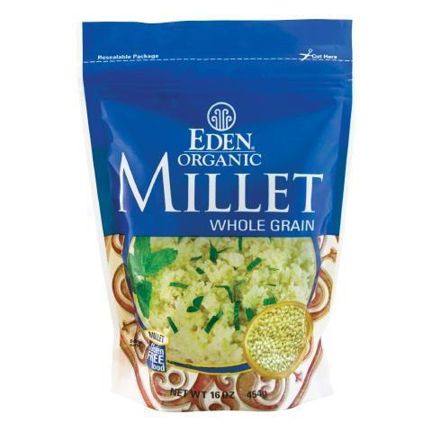 Food & Drink - Eden - Org Yellow Millet - 454g