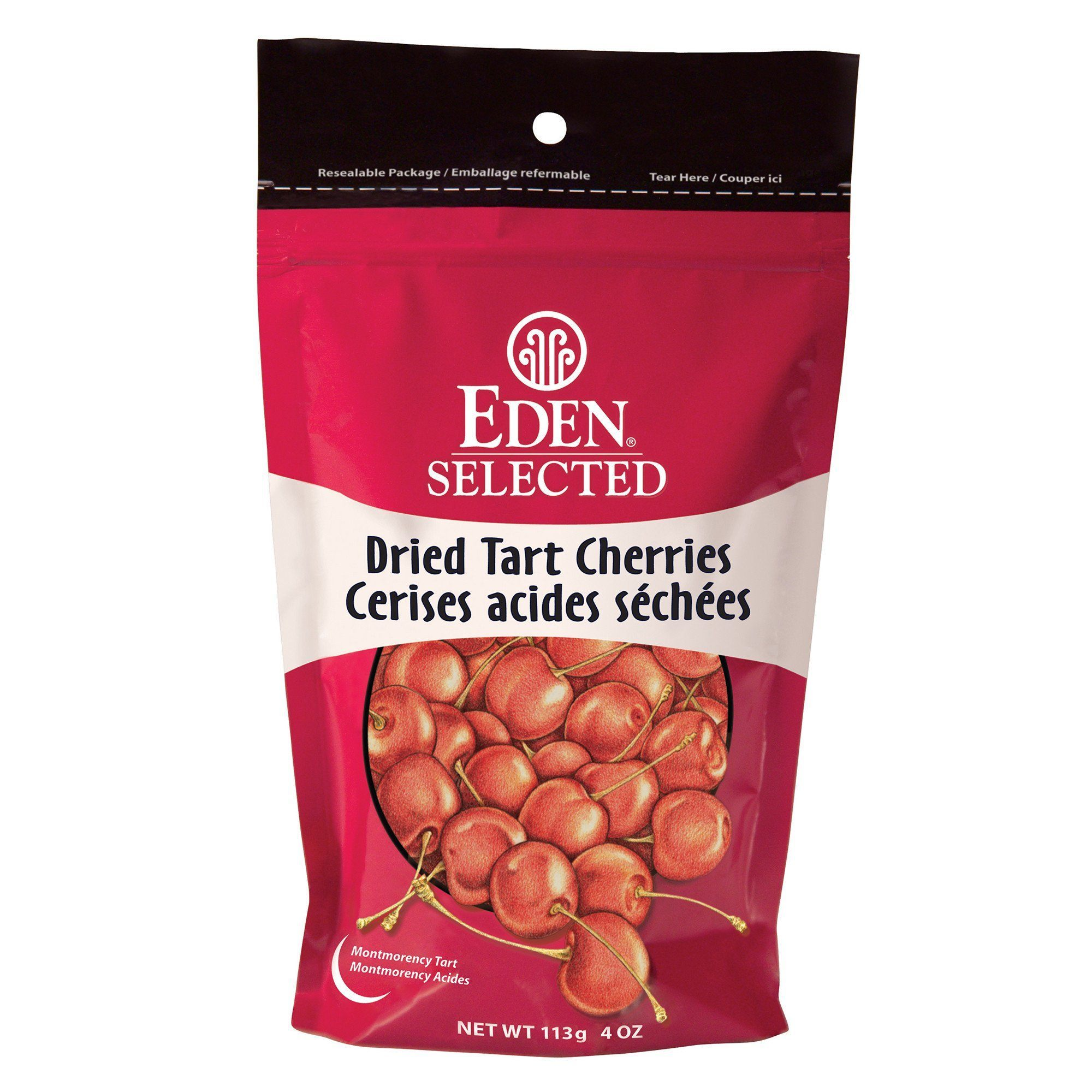 Food & Drink - Eden - Organic Dried Tart Cherries, 113g