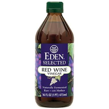 Food & Drink - Eden - Red Wine Vinegar - 474ML