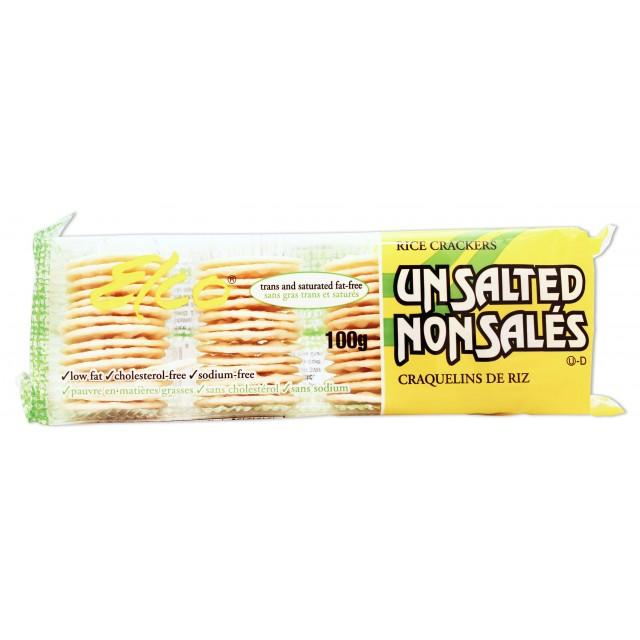 Food & Drink - Elco Unsalted Rice Crackers 100g