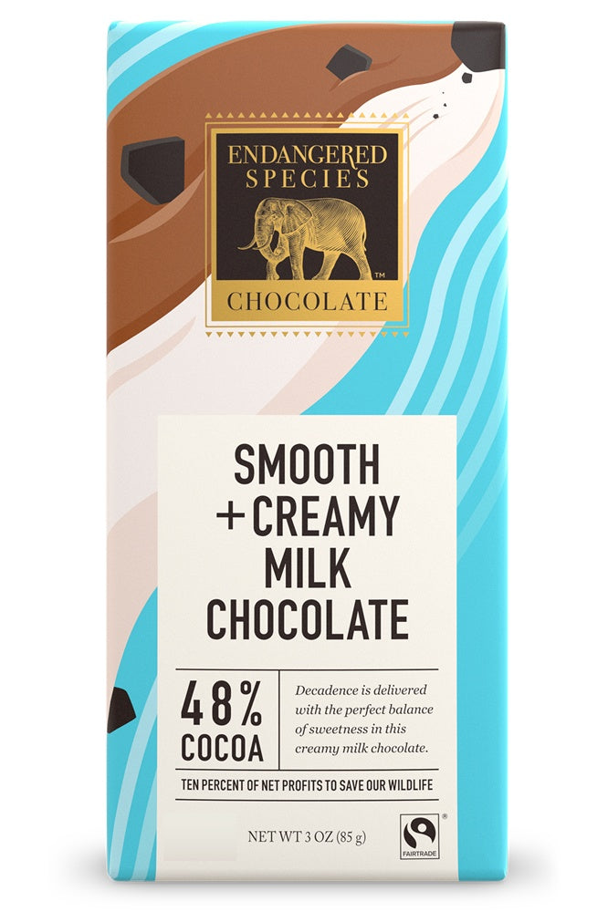 Food & Drink - Endangered Species Chocolate - Milk Chocolate Bar - 85G