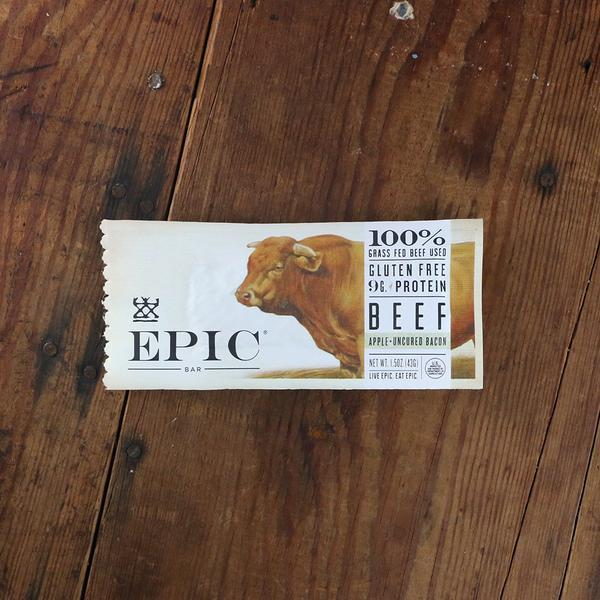 Food & Drink - Epic - Beef Apple Bar, 43g