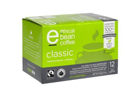 Food & Drink - Ethical Bean - Pod -classic - 132 G
