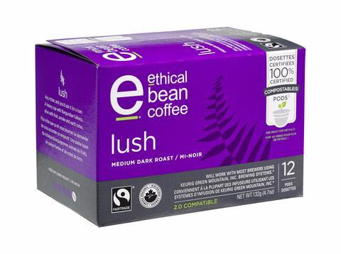 Food & Drink - Ethical Bean - Pod- Lush - 132 G