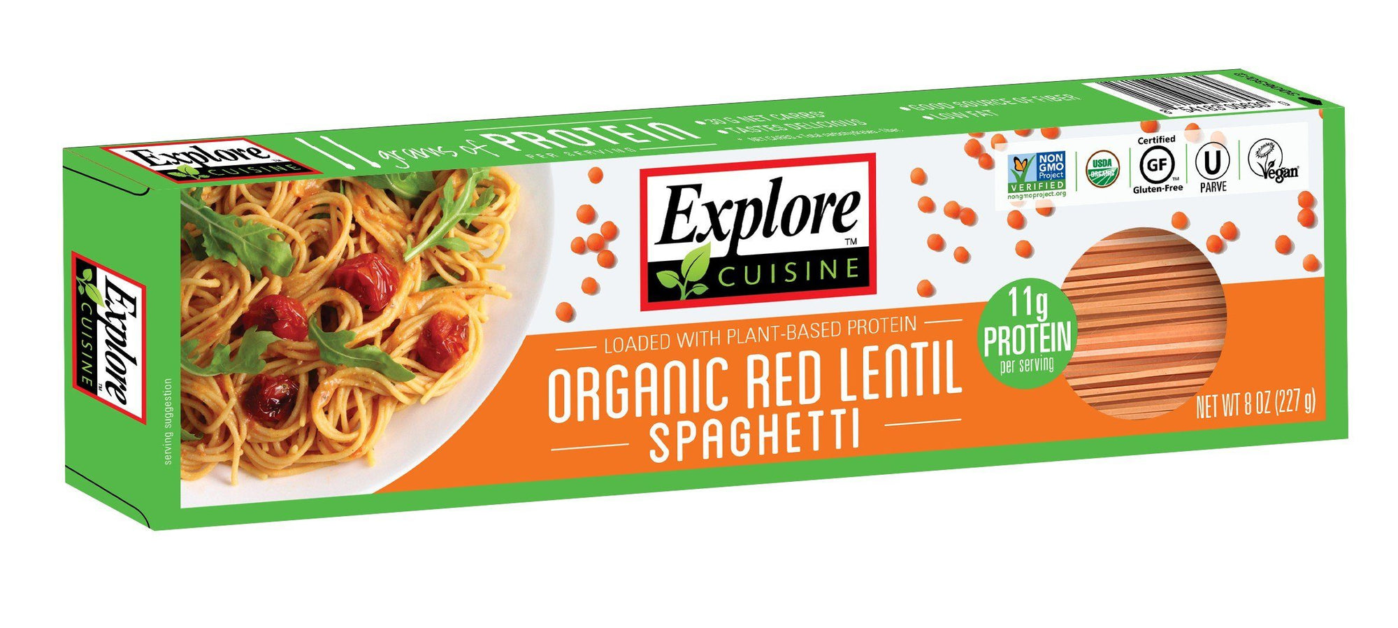 Food & Drink - Explore Cuisine - Red Lentil Spaghetti - 227G