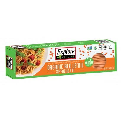 Food & Drink - Explore Cuisine Red Lentil Spaghetti 227g