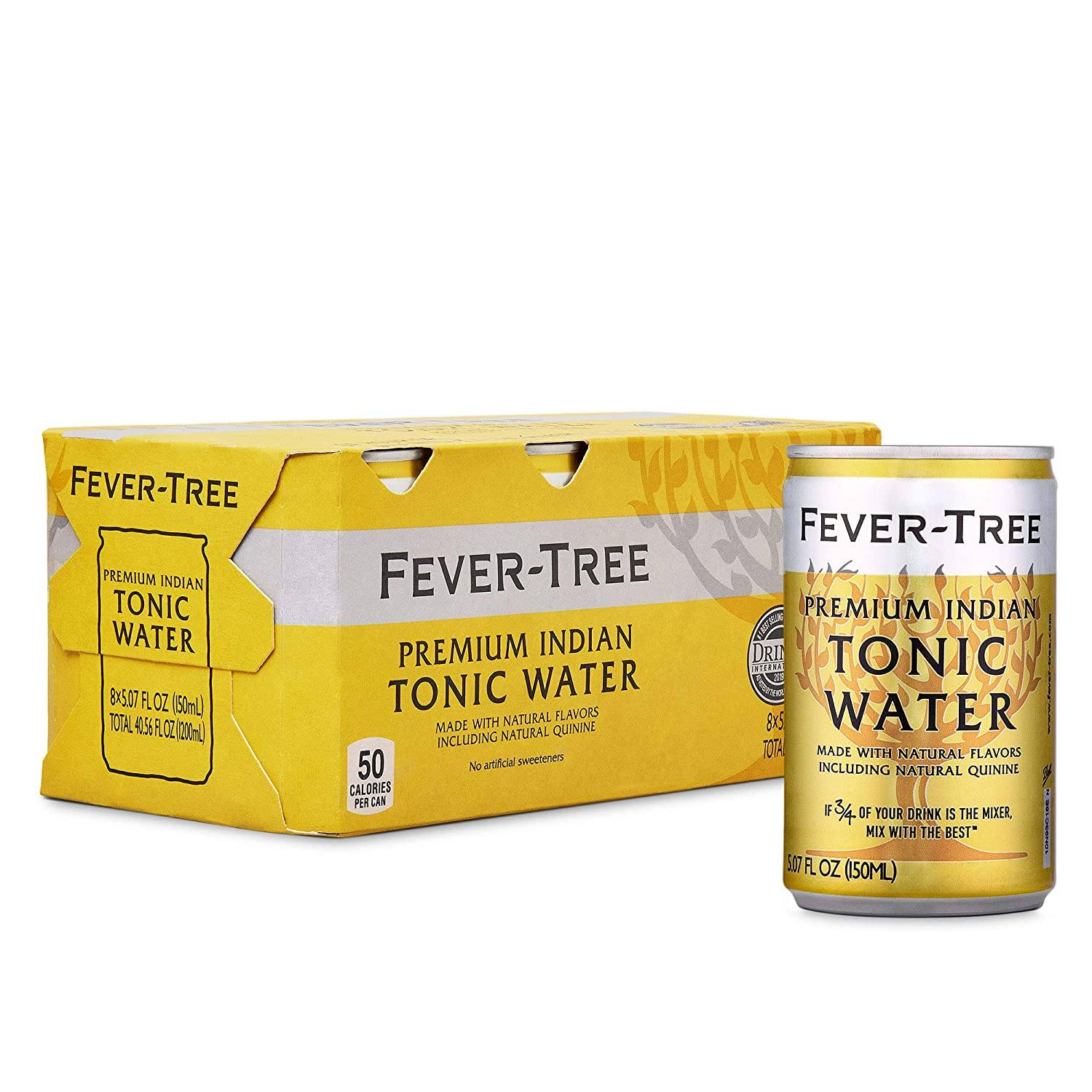 Food & Drink - Fever-Tree - Tonic Water, 8x150ml