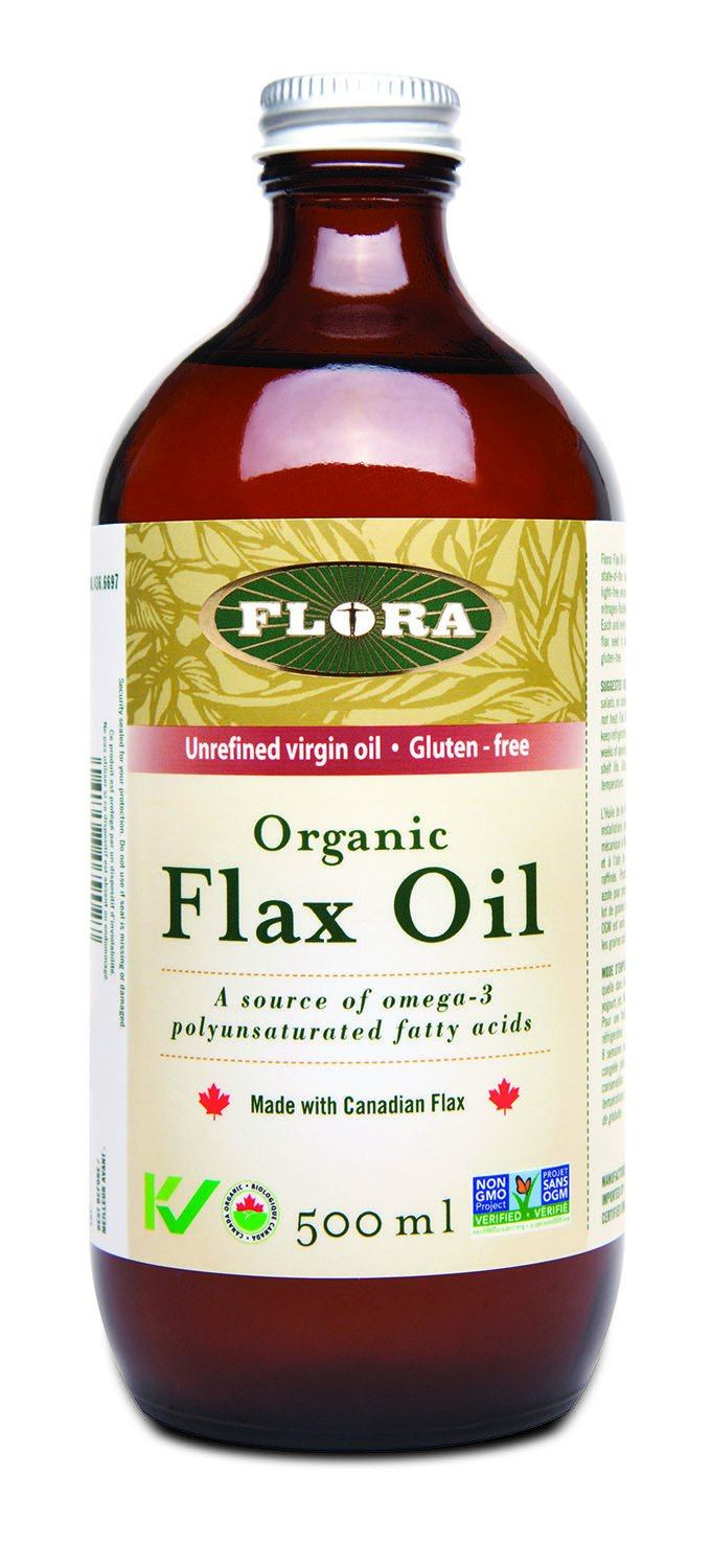 Food & Drink - Flora - Flax Oil - 500ml