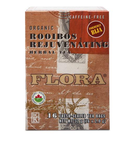 Food & Drink - Flora Teas Rooibos Rejuvenating Tea 16 Bags