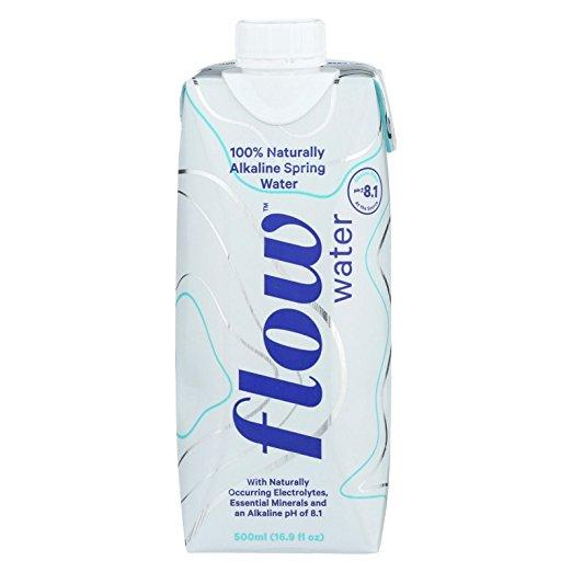 Food & Drink - Flow Alkaline Spring Water 500ml