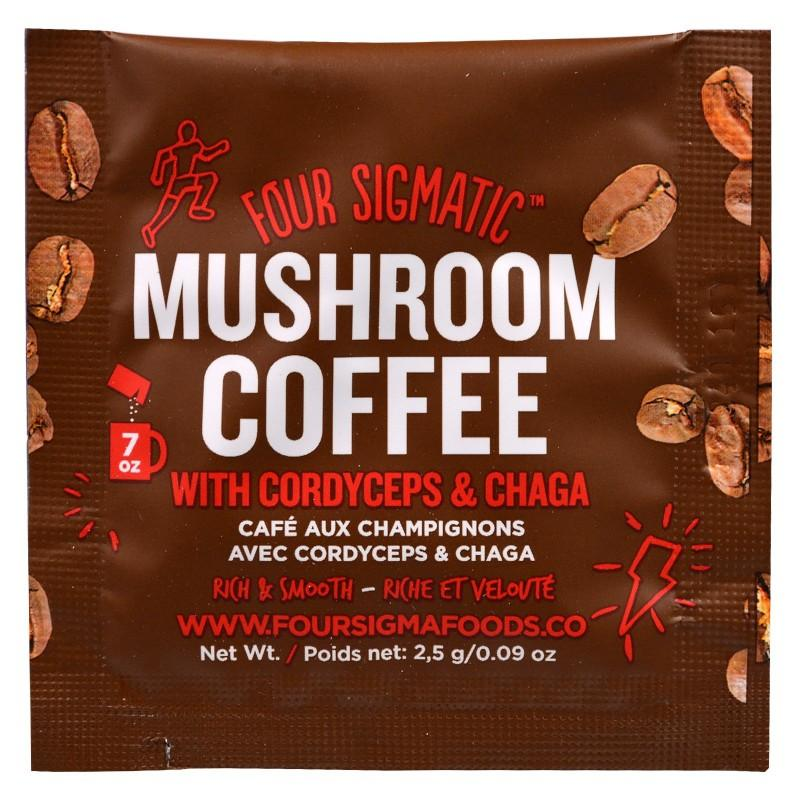 Food & Drink - Four Sigma Foods Coffee With Cordyceps+chaga - Sachet 2.5g