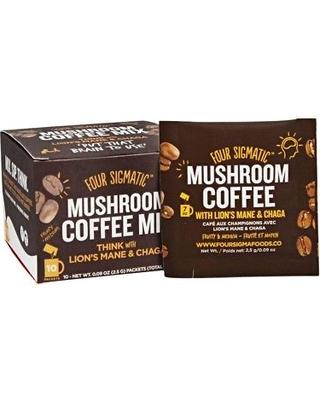 Food & Drink - Four Sigma Foods Coffee With Lion Mane+chaga - Sachet 2.5g
