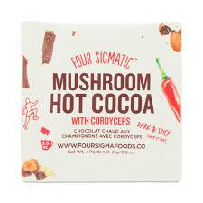 Food & Drink - Four Sigma Foods Mushroom Hot Cacao Cordyceps - Sachet 6g