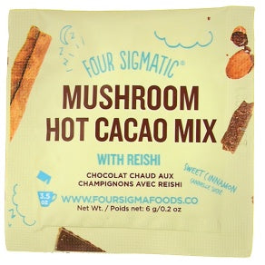 Food & Drink - Four Sigma Foods - Mushroom Hot Cacao With Reishi - 6G