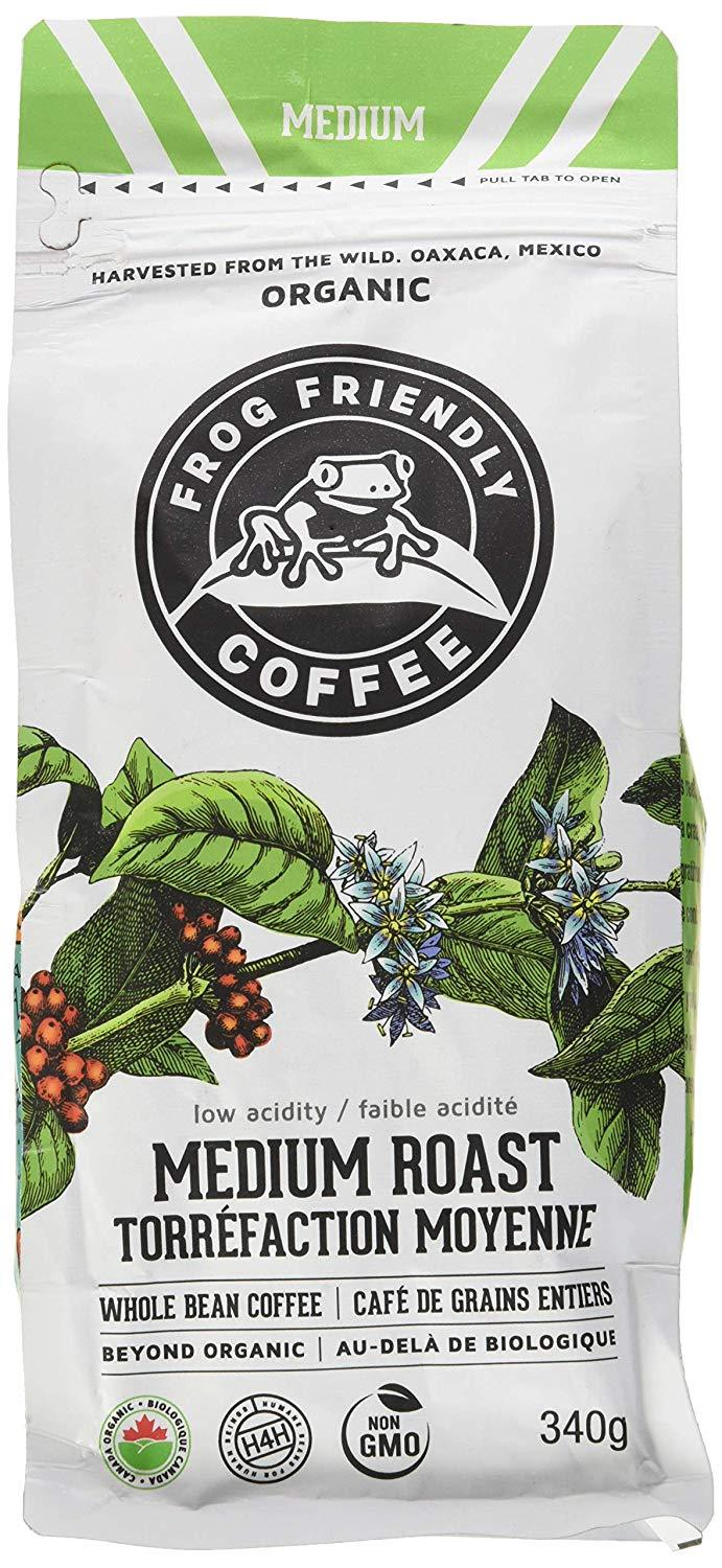 Food & Drink - Frog Friendly Coffee - Wild Whole Medium Roast, 340g